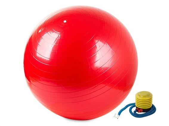 Aria Trade Μπάλα Pilates 65cm Κόκκινη 14172