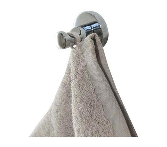 Μεταλλική Κρεμάστρα Γάντζος για Πετσέτες Μπάνιου, Bath curved hook