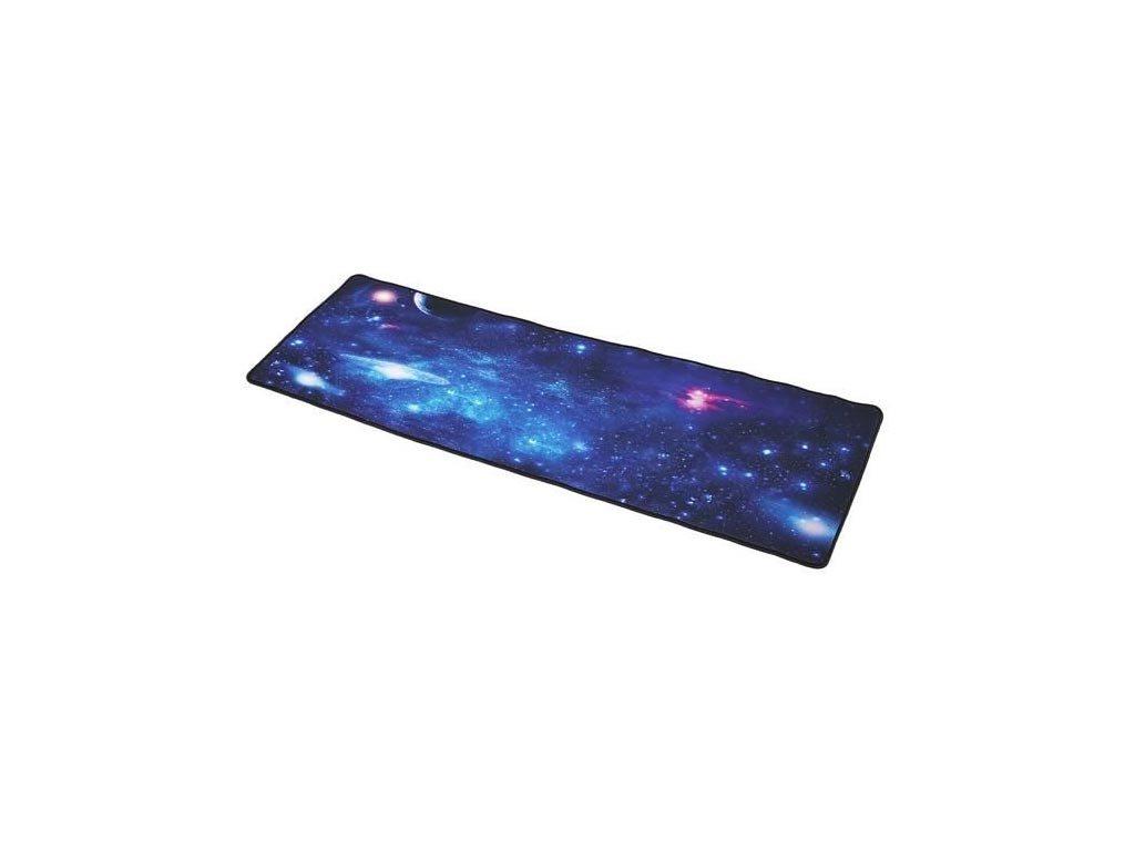 Αντιολισθητικό Μαξιλαράκι για το Ποντίκι Mousepad με θέμα γαλαξιακός ουρανός, 88x30cm