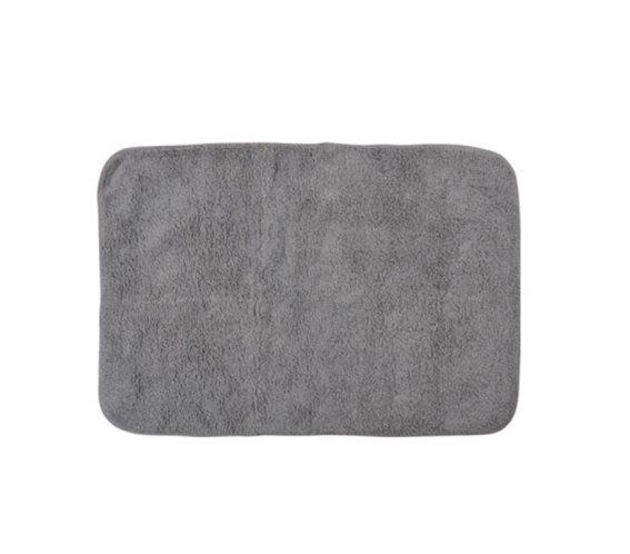 Πατάκι Μπάνιου από βαμβάκι, 60x90 cm, Bath mat Καφέ