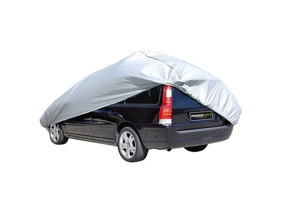 Ανθεκτική Κουκούλα Κάλυμμα Αυτοκινήτου σε ασημί χρώμα, Car cover Medium
