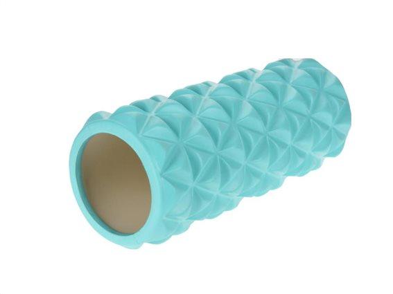 Aria Trade Κύλινδρος Μασάζ Pilates Μπλε 33cm AT1054