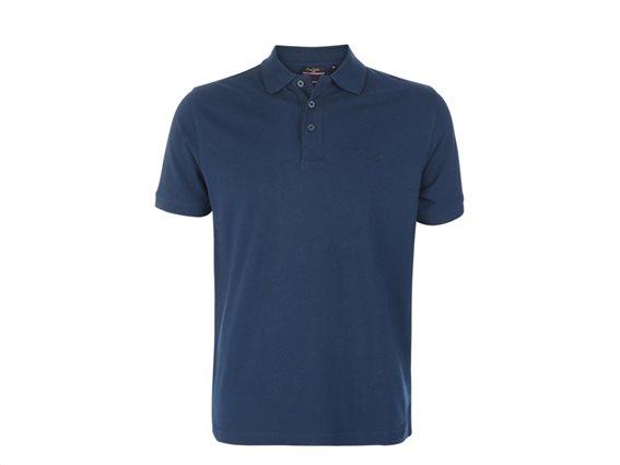 Pierre Cardin Ανδρικό μπλουζάκι polo πικέ T-Shirt,κοντό μανίκι κουμπιά σε Navy χρώμα Large