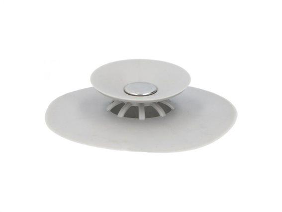 Alpina Φίλτρο σιλικόνης για νεροχύτη κουζίνας, 10x2.5 cm, Silicone strainer filter