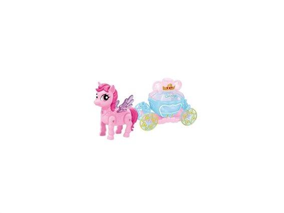 Παιχνίδι Παιδική άμαξα με αλογάκι, Carriage with pony