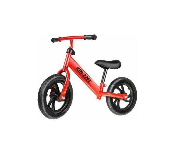 Παιδικό Ποδήλατο Ισορροπίας σε κόκκινο χρώμα, 38x57x77 cm, Kruzzel