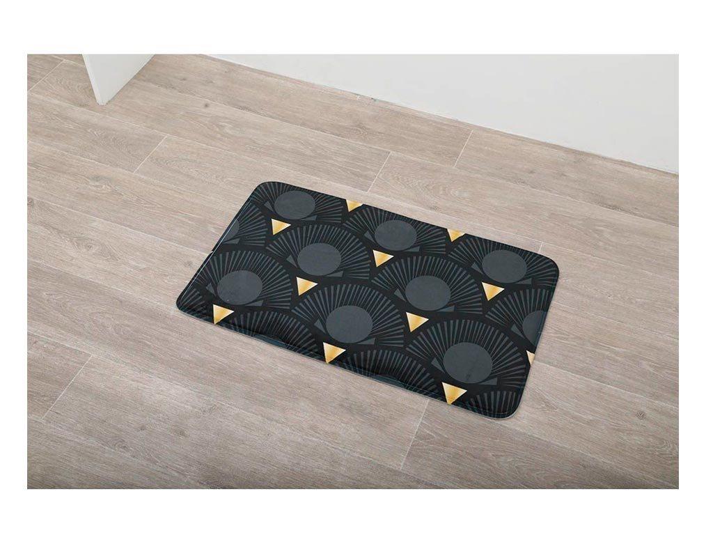 Αντιολισθητικό Πατάκι Μπάνιου με Μικροϊνες με σχέδιο, 45x75 cm, Bath mat, Gingko