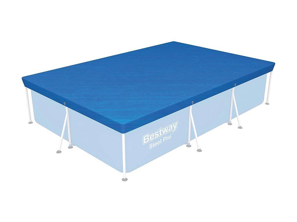 Bestway Κάλυμμα Παραλληλόγραμμης Πισίνας σε μπλε χρώμα, 304x205 cm, 58106