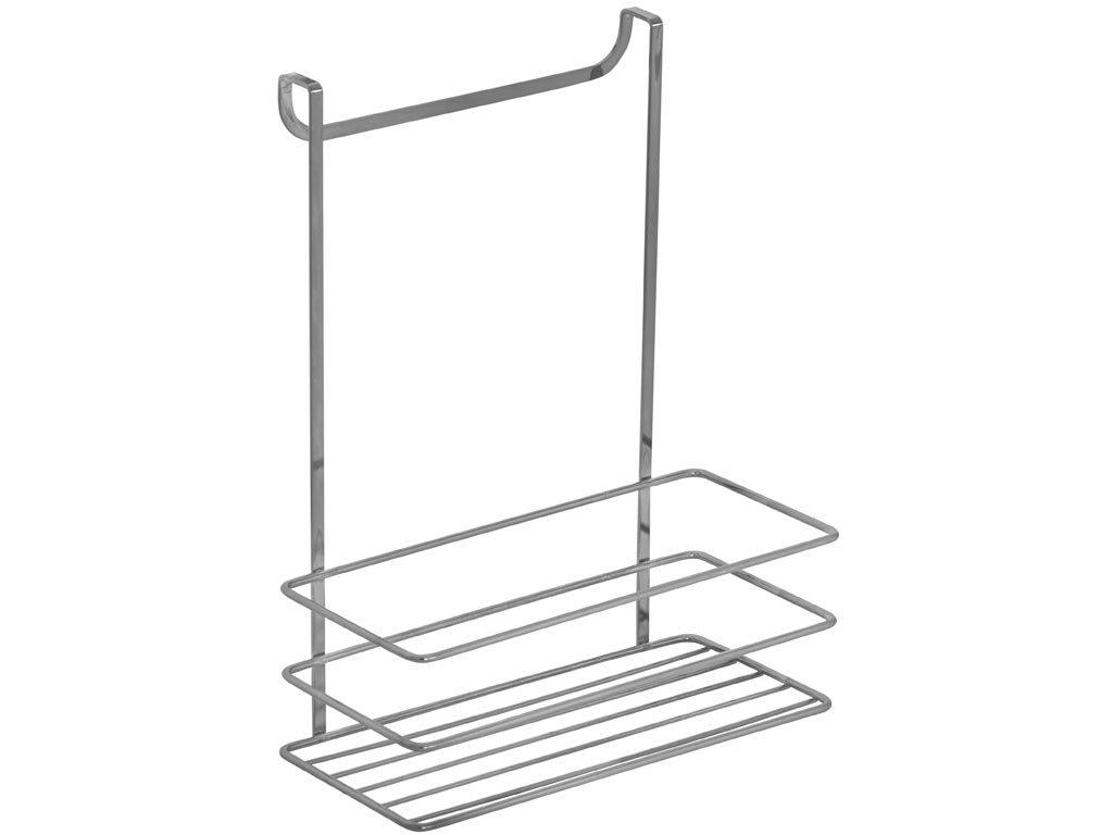 Herzberg Κρεμαστή ραφιέρα για το ντουλάπι, καλάθι οργάνωσης, 24x10.5x 30cm, HG-AKB758