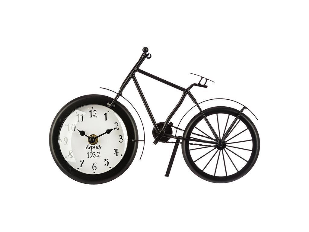 Ρολόι Ρετρό Vintage Μεταλλικό σε σχέδιο Ποδηλάτου, 28.5x6x18 cm