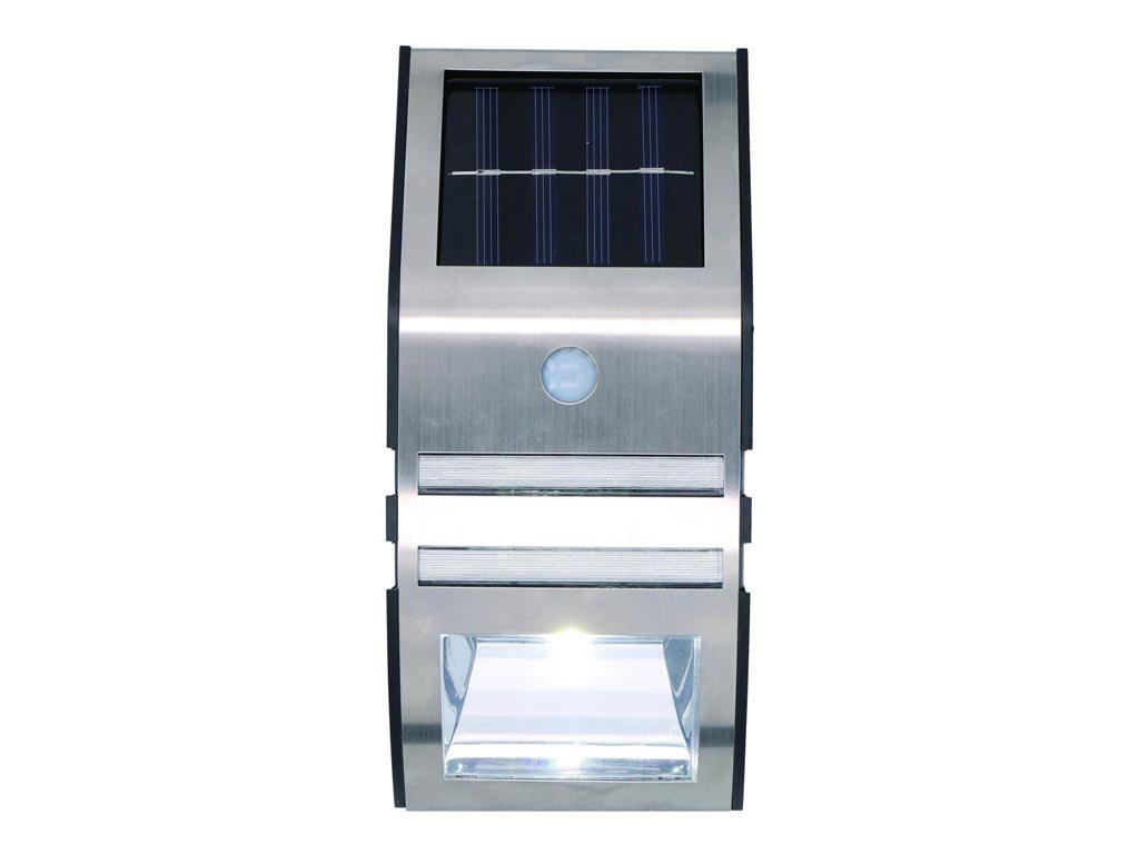 Solar Ηλιακός Προβολέας Φωτιστικό led με Αισθητήρα Κίνησης, 17x7.5x4.8 cm, Grundig Wall Light senso