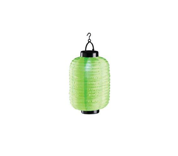 Ηλιακό Κρεμαστό Φαναράκι Φωτιστικό LED Εξωτερικού Χώρου, 20x30 cm, Solar lamp Πράσινο