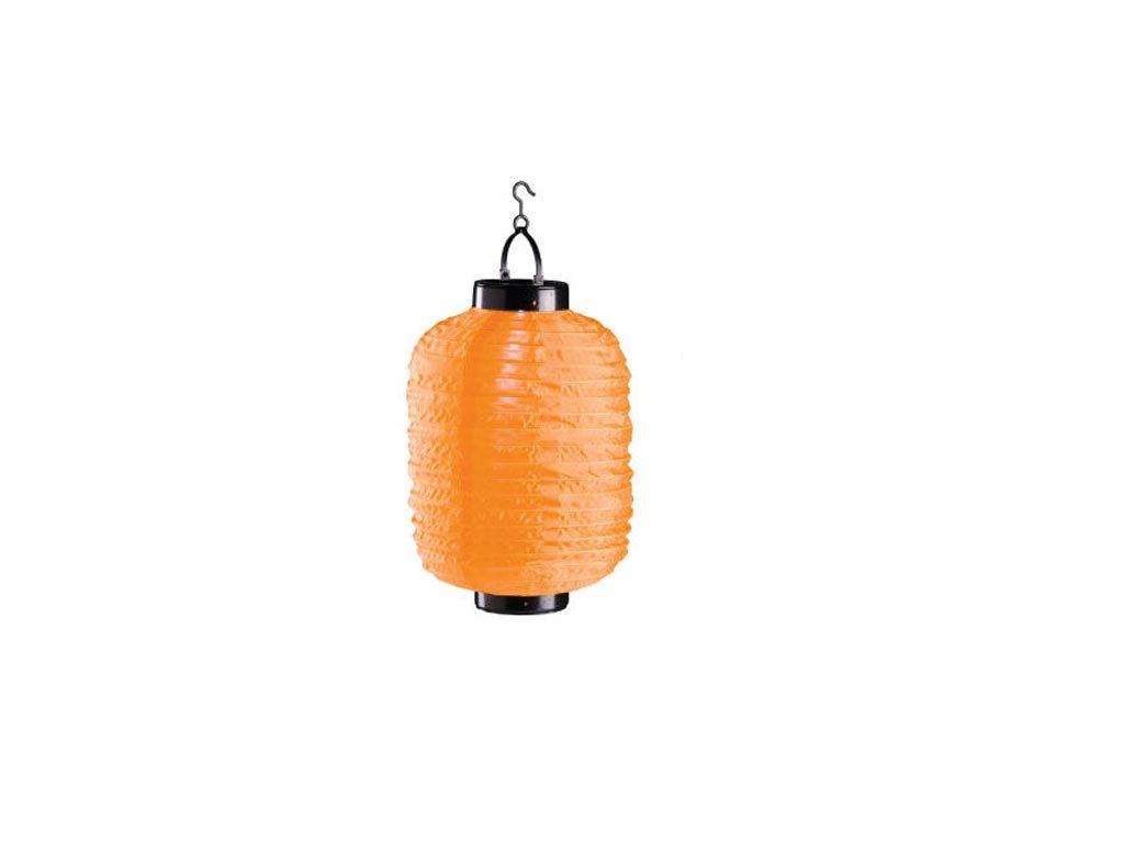 Ηλιακό Κρεμαστό Φαναράκι Φωτιστικό LED Εξωτερικού Χώρου, 20x30 cm, Solar lamp Πορτοκαλί