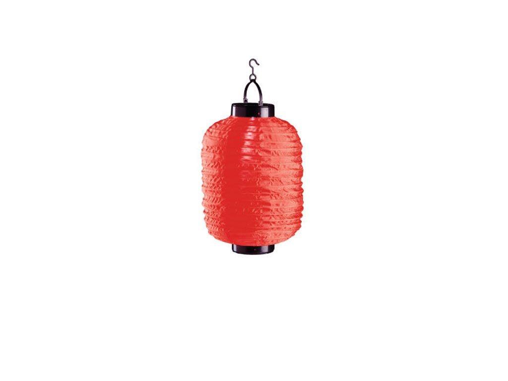 Ηλιακό Κρεμαστό Φαναράκι Φωτιστικό LED Εξωτερικού Χώρου, 20x30 cm, Solar lamp Κόκκινο