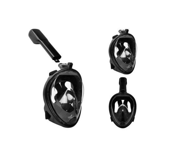 Μάσκα Θαλάσσης με ενσωματωμένο Αναπνευστήρα και Βάση για Action Camera, Full Face  L / XL