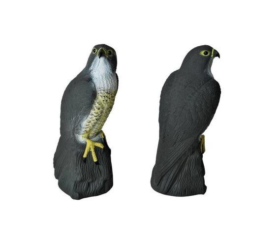 Απωθητικό πτηνών ομοίωμα γερακιού με άγκιστρο σε μαύρο χρώμα, 17.5x17.5x40cm