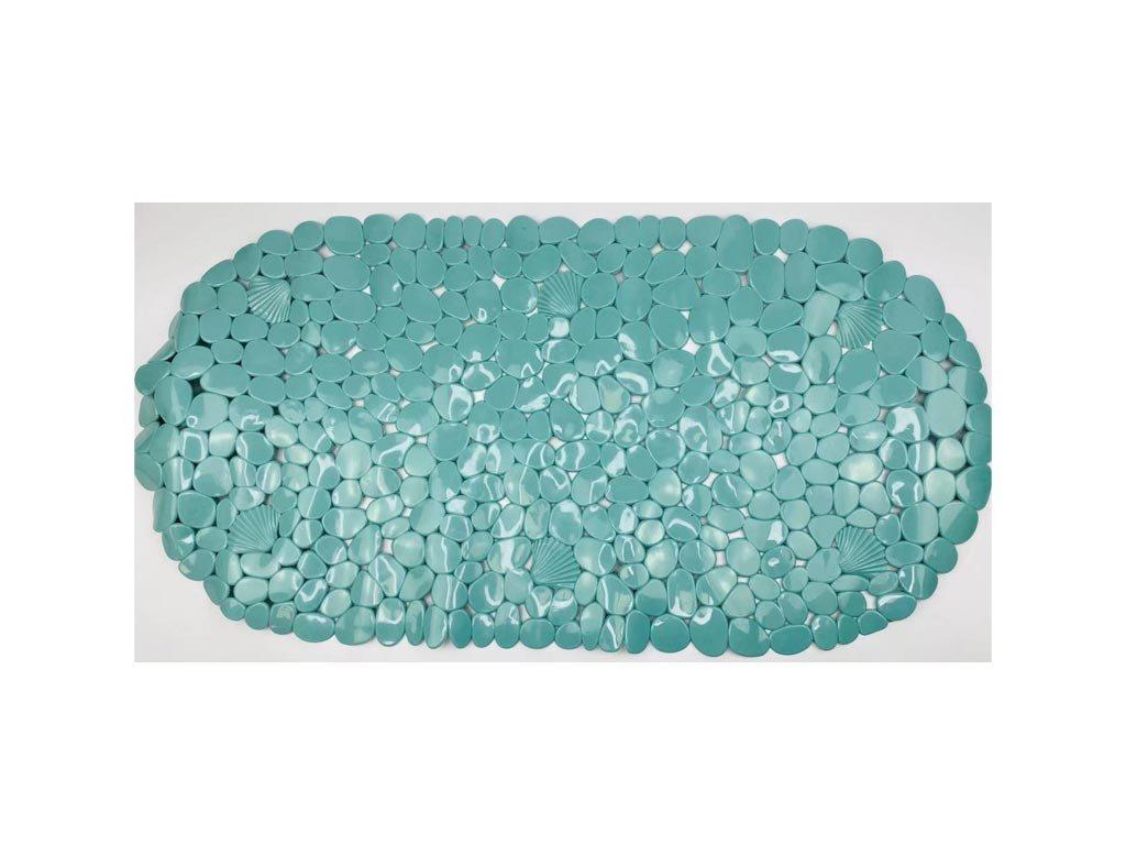 Αντιολισθητικό πατάκι για το Ντους σε τιρκουάζ χρώμα, 69x35x2 cm, Bath mat