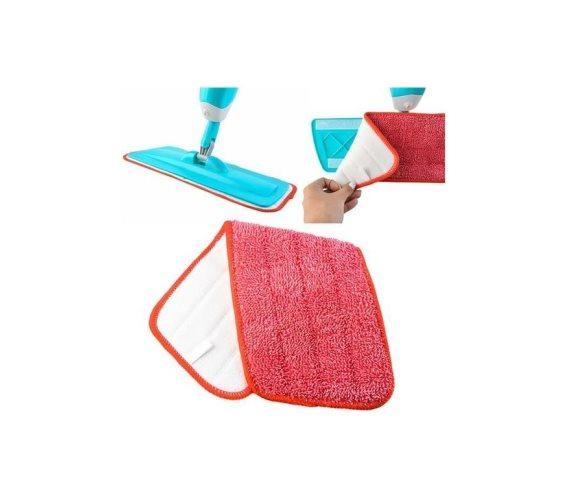 Ανταλλακτικό Καθαριστικό Πανάκι σφουγγαρίστρας, με μικροίνες και εύκολη εφαρμογή, 40x13x2 cm