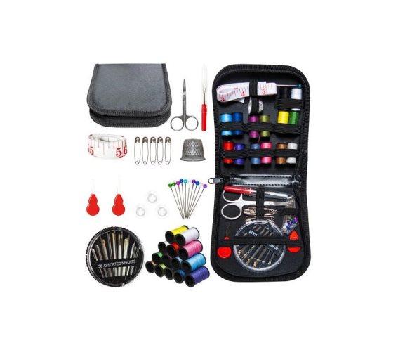 Σετ Εργαλεία Ραπτικής για επιδιόρθωση ρούχων, 70 τεμαχίων σε θήκη με φερμουάρ, 12.5x12x3.5 cm