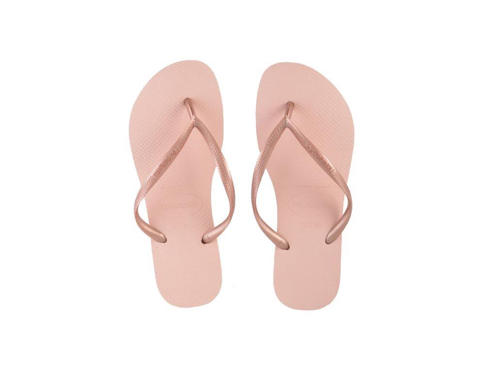 Havaianas Γυναικείες Σαγιονάρες, Flip Flops, σε απαλό Ροζ χρώμα 37/38