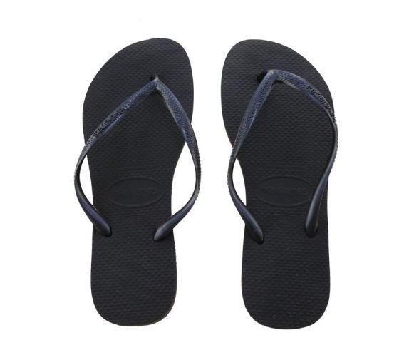Havaianas Γυναικείες Σαγιονάρες, Flip Flops, σε μαύρο χρώμα 41/42