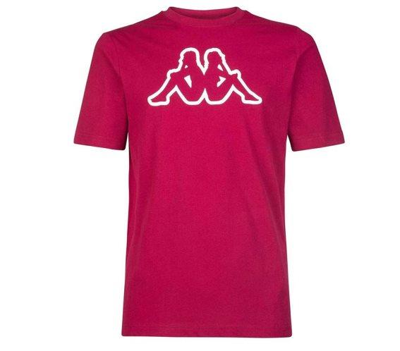 Kappa Ανδρικό T-Shirt σε Κόκκινο Χρώμα, Cromen Logo XLarge