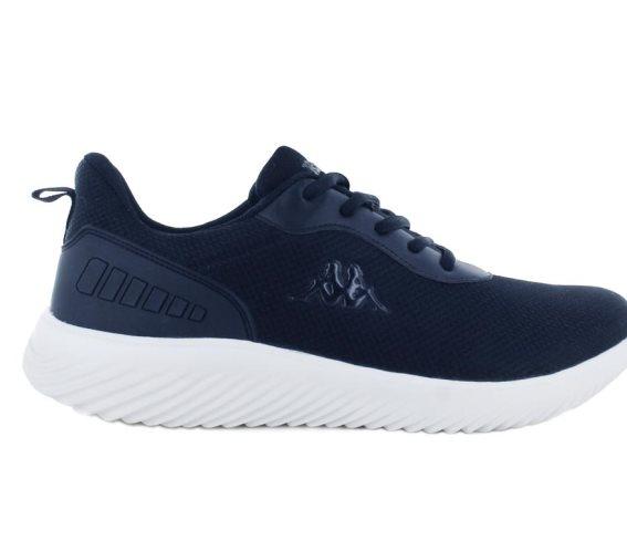 Kappa Ανδρικό Αθλητικό Παπούτσι Πάνινο με ελαφρά EVA σόλα, σε μπλε σκούρο χρώμα, Logo Emre 45