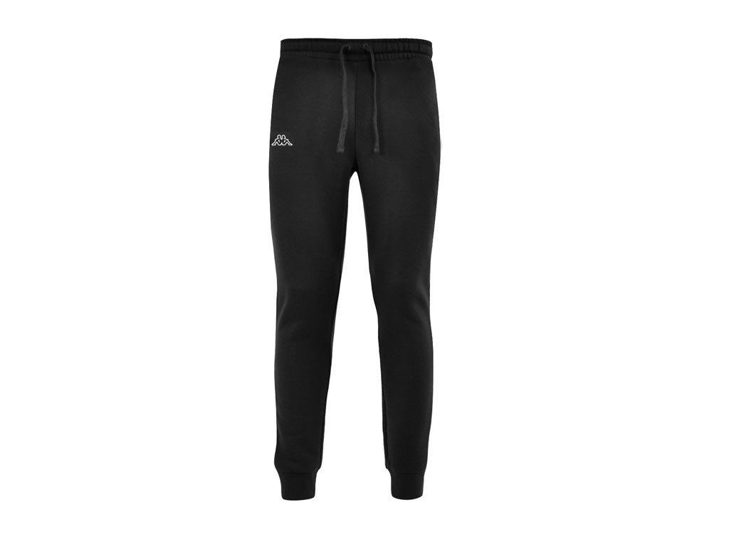 Kappa Ανδρικό Παντελόνι Φόρμας Γυμναστικής σε Μάυρο Χρώμα, Jogging Pants Large