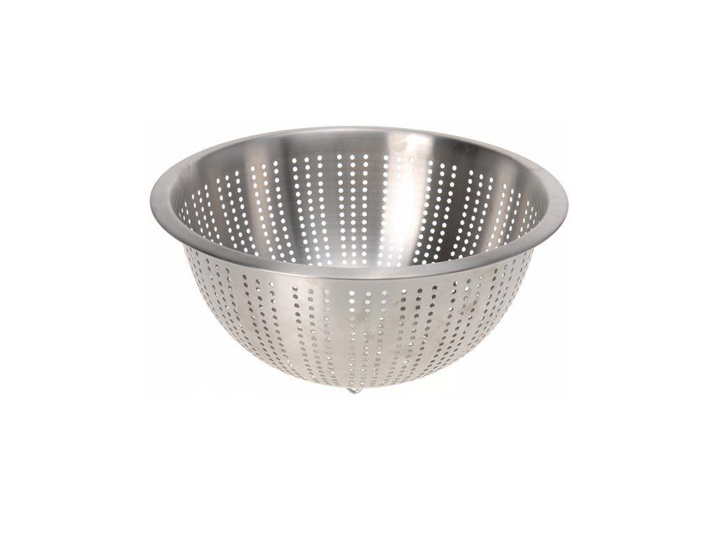 Σουρωτήρι από ανοξείδωτο ατσάλι, 28x12.5 cm, Metallic strainer