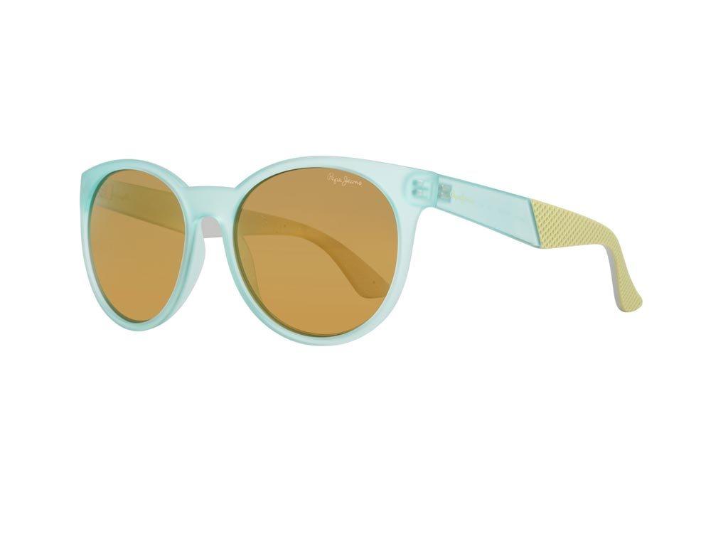 Pepe Jeans Γυναικεία Γυαλιά Ηλίου με σκελετό σε τιρκουάζ χρώμα και φακούς καθρέφτη, PJ7336 C4
