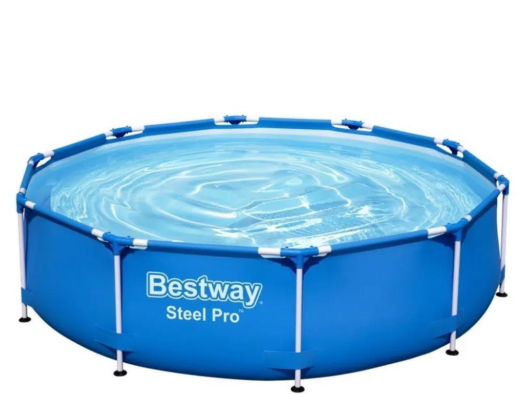 Bestway Στρογγυλή Πισίνα Steel Pro 305x76cm, 56677