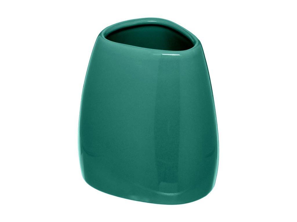 Aria Trade 500053 Ποτηροθήκη Επιτραπέζια Κεραμική Πράσινη