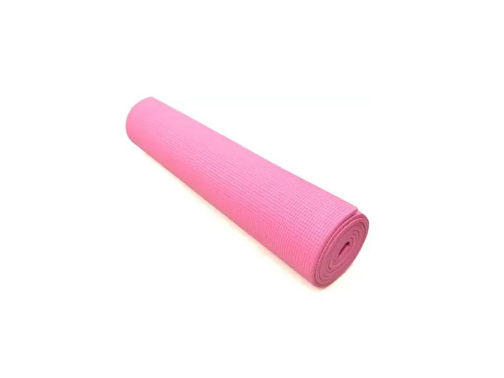 Στρώμα για Yoga Πιλάτες Γυμναστική διαστάσεων 61x171 cm Ροζ