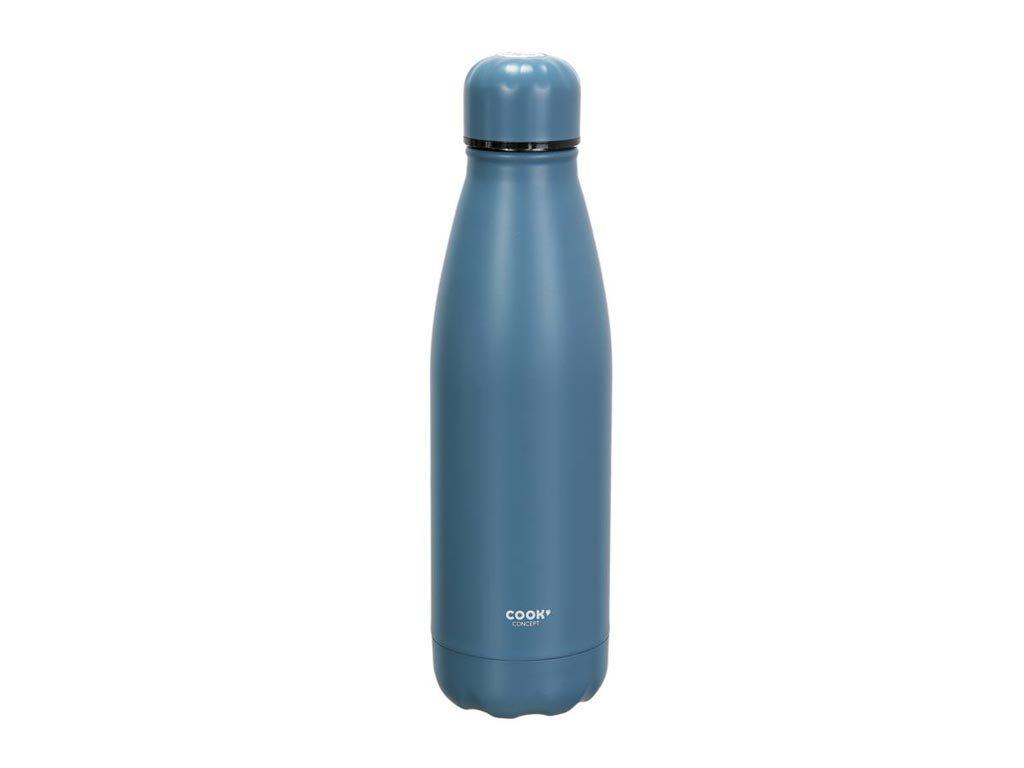Θερμός από ανοξείδωτο ατσάλι χωρητικότητας 500ml για καφέ και ροφήματα σε μπλε χρώμα