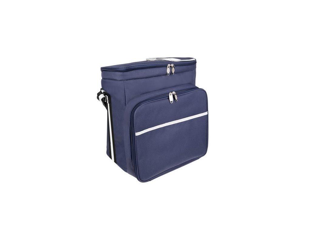 Αδιάβροχη Θερμική Τσάντα Πικ νικ με πολλαπλές θήκες, 35x23x35 cm, Pic nic bag