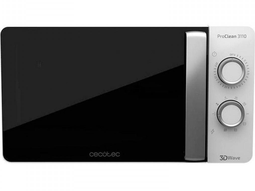 Cecotec Φούρνος Μικροκυμάτων με Grill 20L και Ισχύ 700W ProClean 3110, CEC-01523