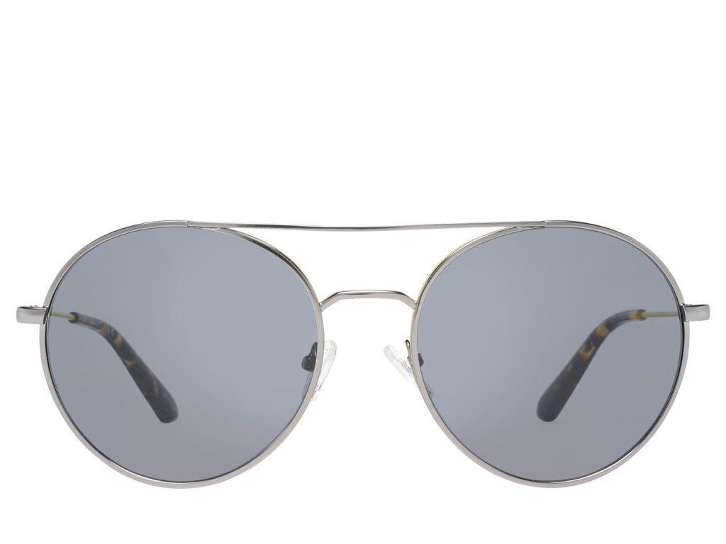 Gant Ανδρικά Γυαλιά Ηλίου με Γκρι Μεταλλικό Σκελετό Γκρι Φακό και 100% προστασία UVA, GA7117 08A 56