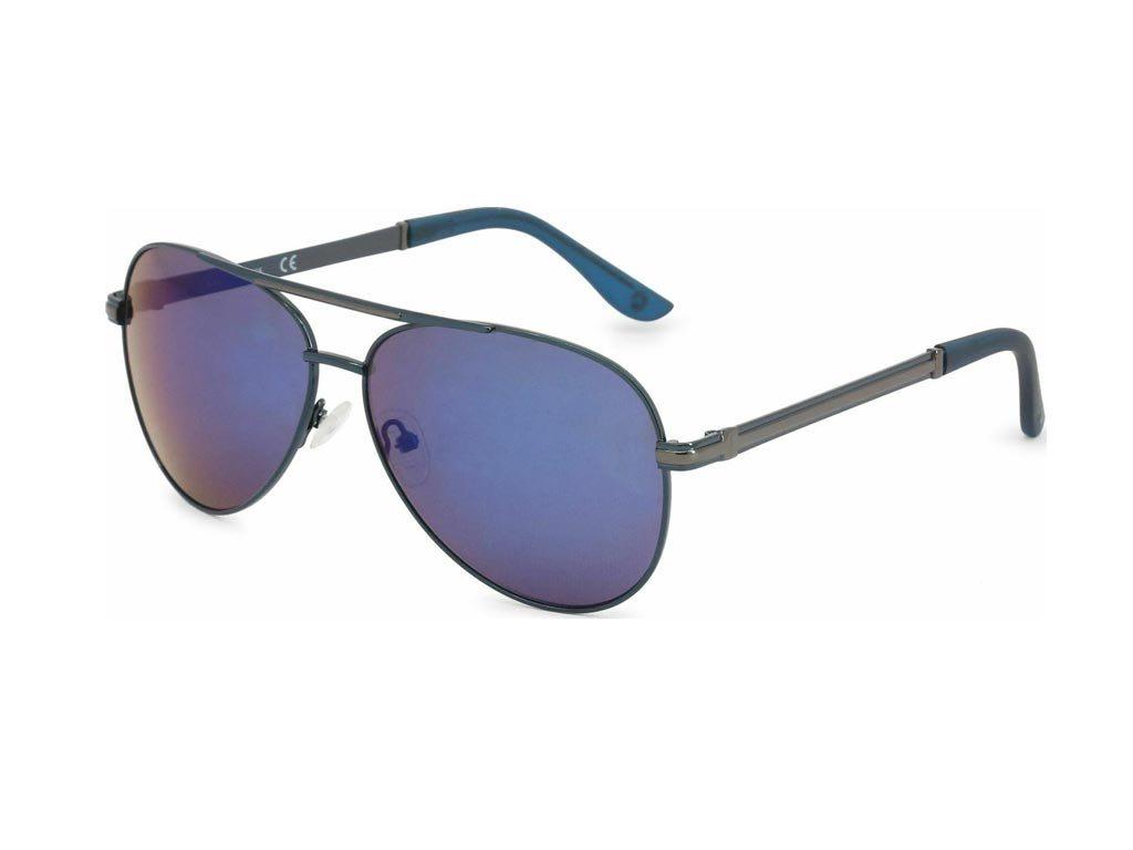 Guess Unisex Γυαλιά Ηλίου με Μπλε σκελετό, Μπλε Φακό 100% προστασία UVA & UVB, GF0173 90X 61