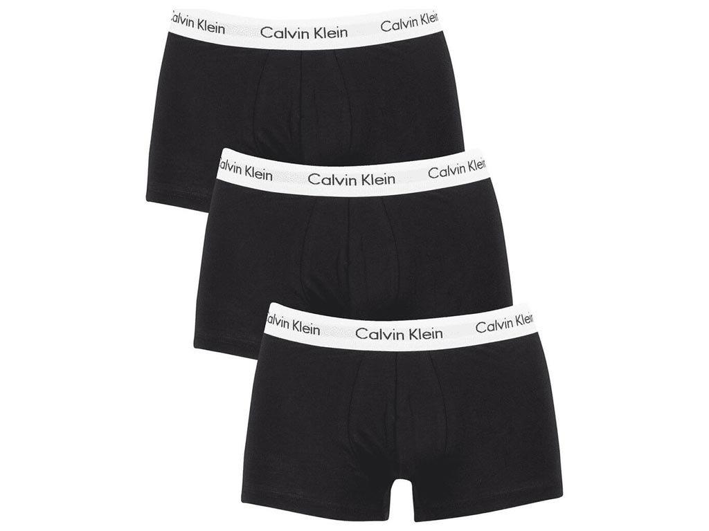 Calvin Klein Σετ Ανδρικά Μποξεράκια 3 τεμ σε μαύρο χρώμα, Boxers 3-pack Large