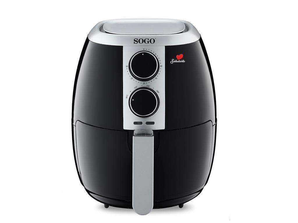 Sogo Φριτέζα αέρος 3.5L 1500W για μαγείρεμα χωρίς η με ελάχιστο λάδι, FRE-SS-10475