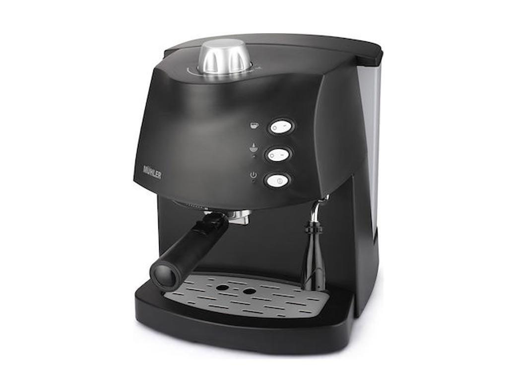Muhler Καφετιέρα Μηχανή Espresso 850W με Πίεση 15 bar και Ακροφύσιο για αφρόγαλα, MCM-1583