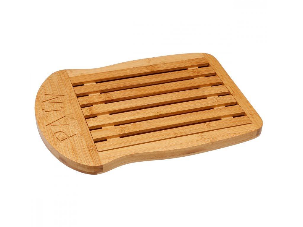 Bamboo Επιφάνεια κοπής σε φυσικό χρώμα ξύλου με αποσπώμενο τμήμα, 34x26x2 cm, Cutting board