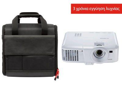 Canon Projector LV-WX320 +LV-SC02 SOFT CASE