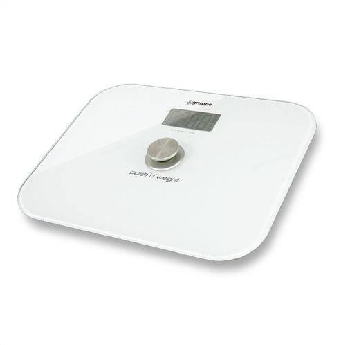 Gruppe Ψηφιακή Ζυγαριά YHB1710 Λευκό Eco Design Χωρίς Μπαταρίες 180kg