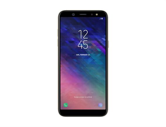 Samsung Galaxy A6 Κινητό Smartphone Dual Sim Gold