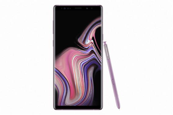 Samsung Galaxy Mobile Note 9 Κινητό Smartphone Lavender Purple