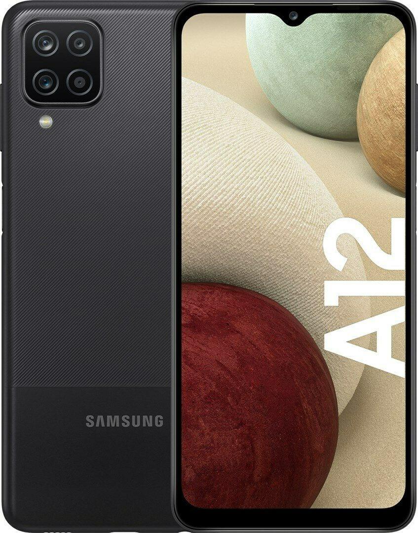 Samsung Smartphone Galaxy A12 4GB/128GB Black