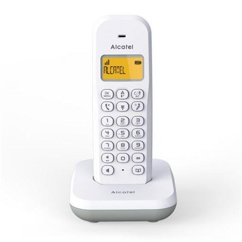Alcatel ασύρματο τηλέφωνο Ε195 γκρί