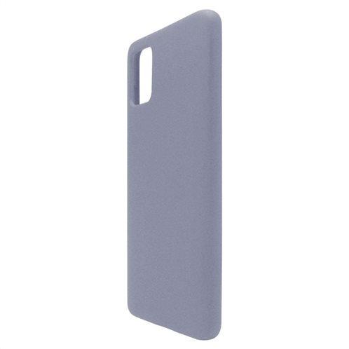 Θήκη Liquid Silicon inos Samsung A515F Galaxy A51 L-Cover Γκρι-Μπλε