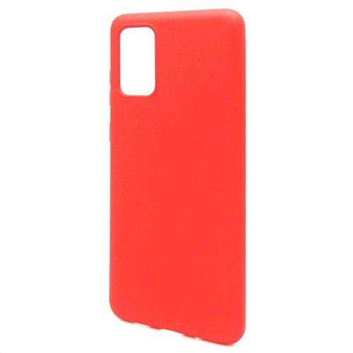 Θήκη Liquid Silicon inos Samsung G985 Galaxy S20 Plus L-Cover Κόκκινο